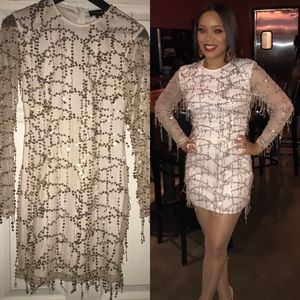 89007cb46a21 PrettyLittleThing Dresses | Burgundy Sequin Fishtail Maxi Dress ...